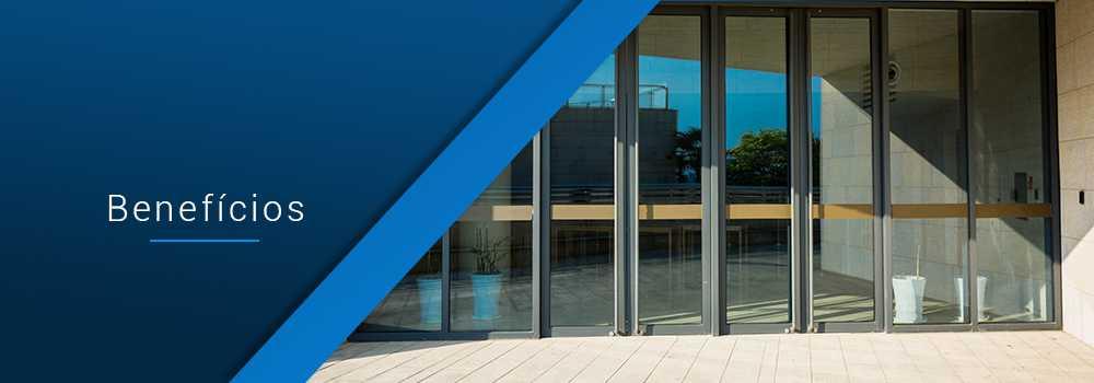 Benefícios do vidro blindado
