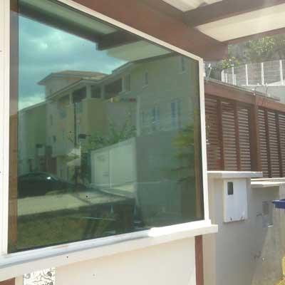 Vidro blindado para edifício residencial